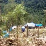 Kemah penambang emas liar Geumpang, Aceh Pidie | Foto: bihaba.com