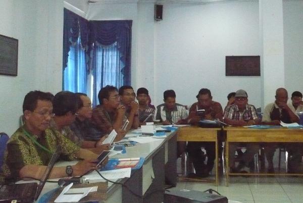 Suasana pertemuan PDLH-LB Walhi Aceh | Foto: M. Nizar Abdurrani