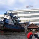 Halaman Hotel Medan di Banda Aceh usai dihantam tsunami 26 Desember 2004 lalu | Foto: int