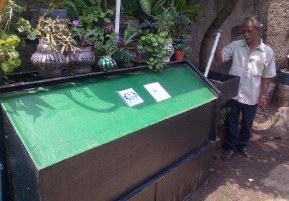 Digester tempat pengolahan sampah | Foto: detiknews