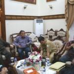 Pertemuan TKPRT dan Gubernur Aceh, Rabu (20/8/2014) di Pendapa gubernur, Banda Aceh.