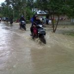 Banjir di Lhoksukon, Aceh Utara, Jumat (19/12/2014) | Foto: Chairul Sya'ban