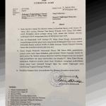Surat Gubernur Aceh kepada Menteri KLHK